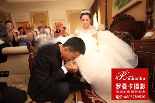 何洁赫子铭婚纱照