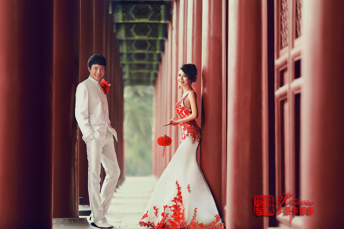 中国风婚纱照|太庙婚纱照