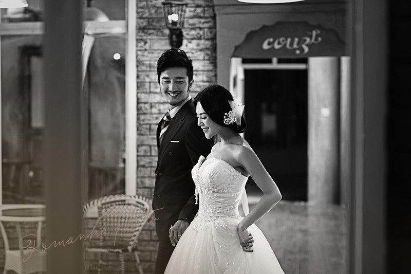 婚纱照拍摄