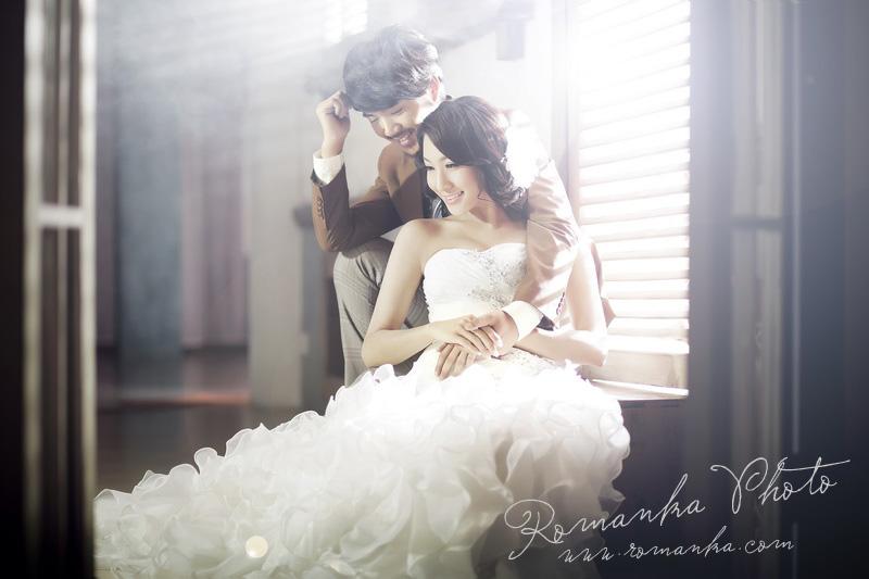 婚纱照化妆造型