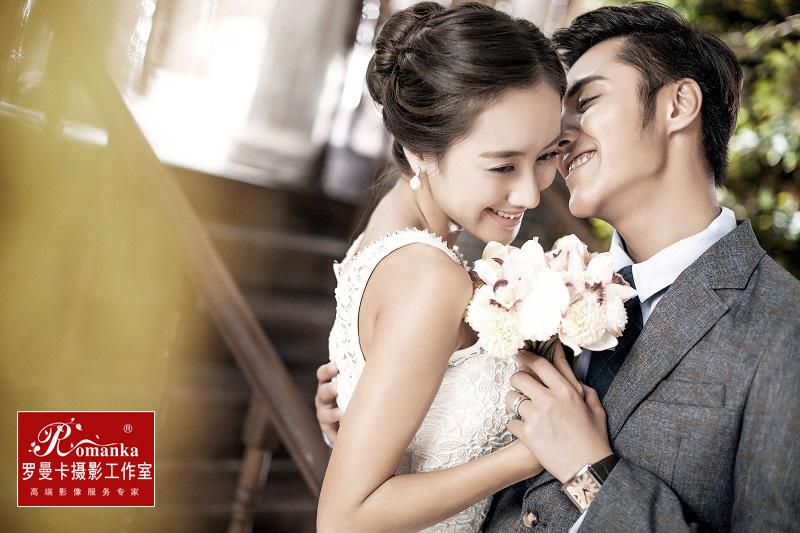 北京婚纱照阳光影棚