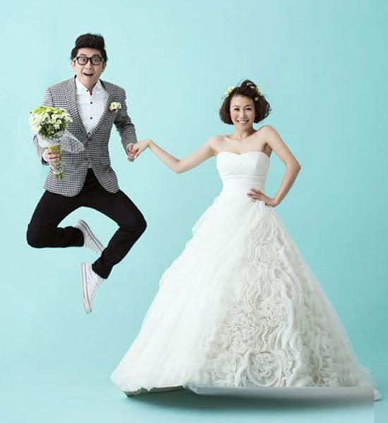 金志文结婚照