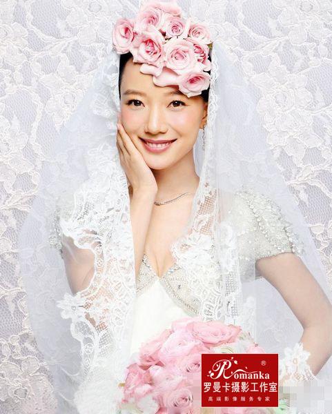王珞丹袁弘婚纱照