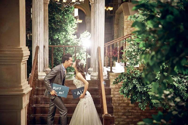大望路北京婚纱摄影工作室的拍摄风格