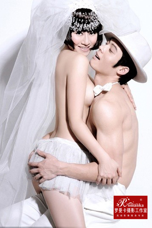 人体婚纱照
