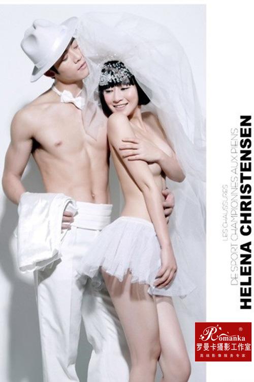 人体婚纱摄影