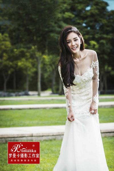 杨幂结婚照
