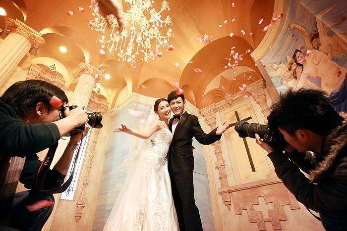 北京婚纱摄影工作室