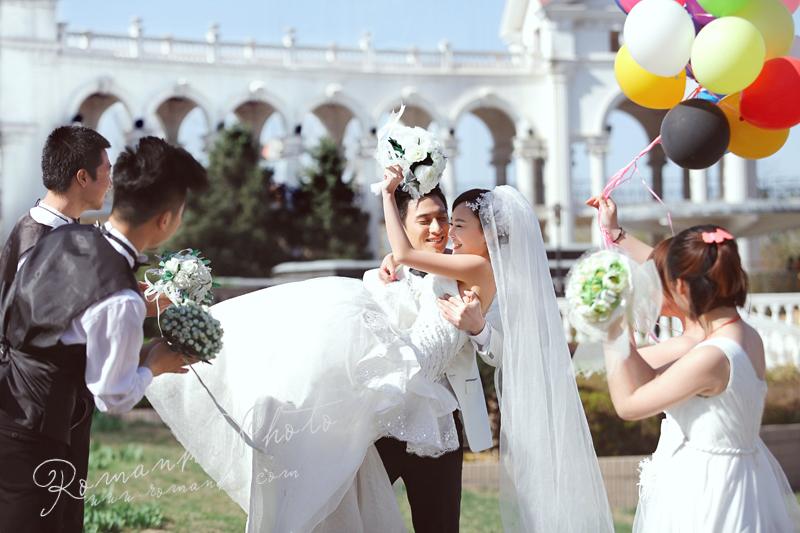 北京婚纱摄影,罗曼卡婚纱摄影,北京婚纱照