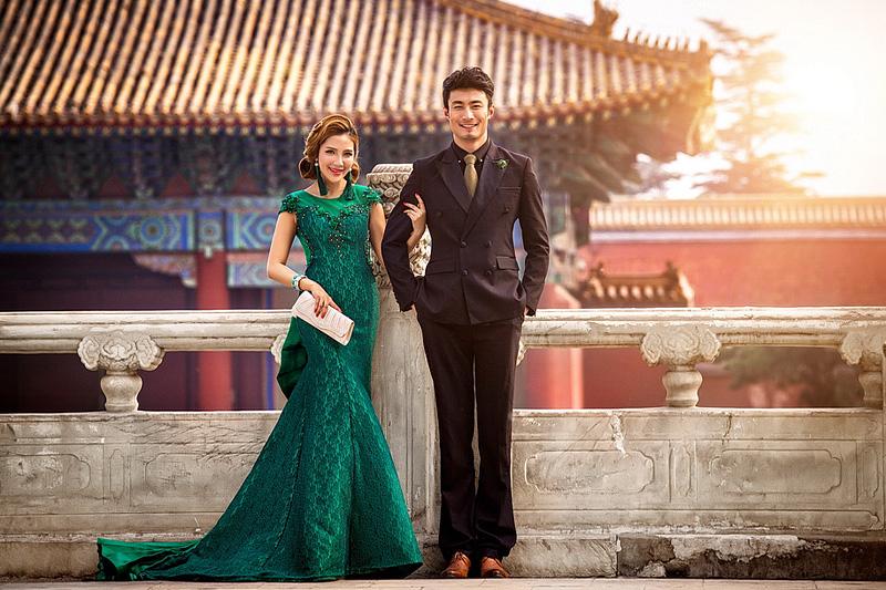 打造新娘弯曲卷翘睫毛,北京婚纱摄影哪家好
