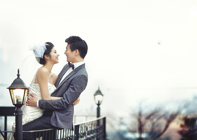 唯美简约韩式婚纱照,北京婚纱摄影哪家好?