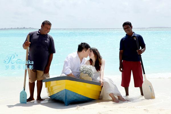 马尔代夫婚纱照
