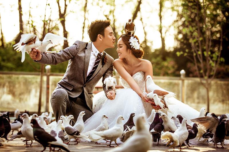 世界公园婚纱摄影