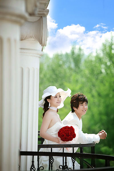 罗曼卡 朝阳公园 婚纱摄影